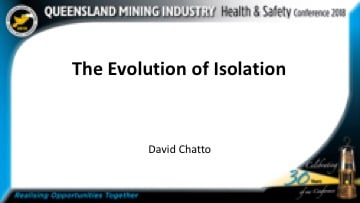 evolution-isolation-david-chatto-qmihsc2018